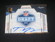 TITUS YOUNG NFL ROOKIE CERTIFIED AUTHENTIC AUTOGRAPHED SIGNED FOOTBALL CARD