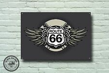 Route 66 Metal Sign, USA Highway, American, Cars, Vintage, Sign, Advertising,979