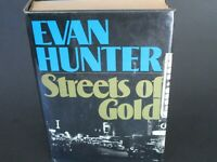 Streets of Gold by Evan Hunter. 1st/1st. HCDJ 1974.