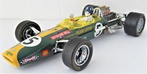 Lotus-Ford Typ 49 Graham Hill GP Südafrika 1968 Exoto 1:18 neuwertig
