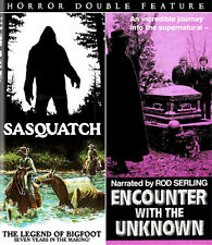 SASQUATCH THE LEGEND OF BIGFOOT/ENCOUNTER WITH UNKNOWN Rod Serling BLU-RAY Yeti