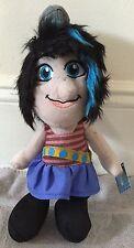 "NEW Smurfs Movie Plush VEXY Naughties Girl 14"" Kelly Toy Smurfette's Friend"