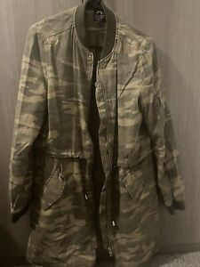 Primark Camo Jacket Size 12