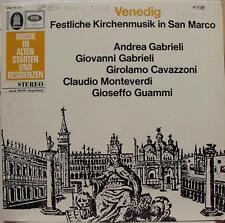 Berg Gabriel Cavazzoni - Venedig Festliche Kirchenmusik LP Mint- German 1st