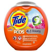 Tide PODS Plus Downy 4 in 1 HE Turbo Laundry Detergent Pacs, April Fresh Scent,