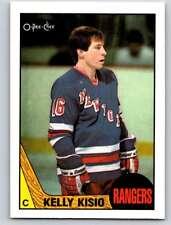 (HCW) 1987-88 O-Pee-Chee #76 Kelly Kisio NY Rangers