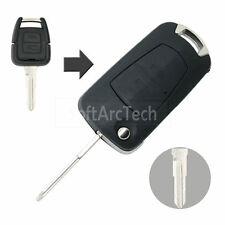 Flip Remote Key Case fit for Opel Celta Prisma Corsa Monza Case 2 BTN Fob S622B