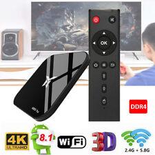 A95X Plus TV Box Android 8.1 Quad Core WiFi 4GB + 32GB USB3 4K Media Player W3N0