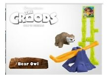 the Croods 2013 McDonald Bear Owl happy meal unopened new