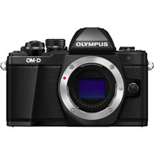Olympus OM-D E-M10 Mark II Camera Body - Black