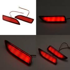 Universal Car Rear Bumper Red Lens Led Fog Brake Taillight Lamp Warning Lights
