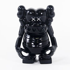 "KAWS x Bounty Hunter Black Skull Kun 7"" Vinyl Figure (2006) BxH LE200 Toy"