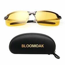 Occhiali guida notturna, HD VISIONE NOTTURNA Polarized occhiali di guida per la pesca |
