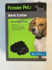 Premier Pet Bark Collar Discourage Barking 8 Pound Plus 6 Months Plus M12B