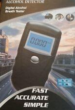 Digital Alcohol Breathalyzer Detector 10 mouth pieces