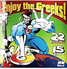 ENJOY THE GREEKS CD 2004 rockabilly psychobilly garage surf HYDES PSYKICKS 22tks