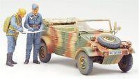 Tamiya 1/48 Military Miniature Series No.01 German Army Pkw.K1 Kubelwagen 82-inc