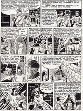 FULGOR (BILD) SUPERBE  PLANCHE ORIGINALE ARTIMA  ANNEES 1950 PAGE 15