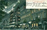 Ansichtskarte Berlin unter den Linden Ecke Friedrichstrasse 1904 Vollm  (Nr.802)