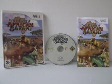 Wild Earth African safari - Juego WII con instrucciones