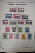 Austria All Mint 1900's Stamp Collection