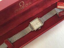 Omega Geneve 1960 Boxed Watch Uhr Montre Orologio Damen Mesh Band bracelette