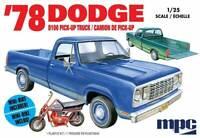 MPC 1/25 1978 Dodge D100 Custom Pick-Up Plastic Model Kit MPC901