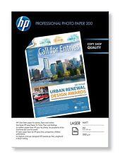HP PROFESSIONALE (A4) 200g/M2 OPACA LASER CARTA FOTOGRAFICA (bianco) 1