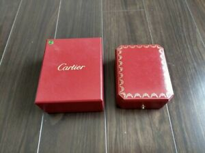 Cartier Ring Box Presentation Case With its Cardboard Outer Brand New