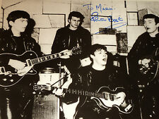 Pete Best / Beatles At The Cavern Club / 8 X 10 B&W Autographed Photo