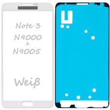 Frontglas Für Samsung Galaxy Note 3 N9005 Front Glas Weiß + Klebefolie