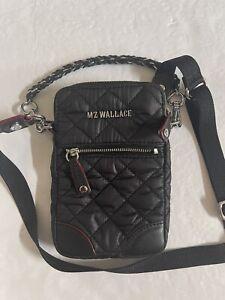 MZ Wallace Nylon Black Micro Quilted Nylon Crossbody $135.00 #708SW