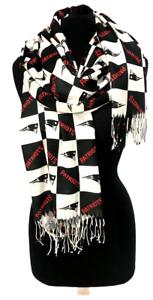 New Women's CASHMERE SCARF Wrap SUPER SOFT - PATRIOTS PRINT