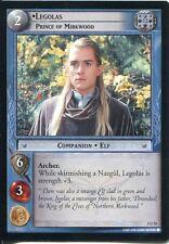 Lord Of The Rings CCG FotR Card 1.U51 Legolas Prince Of Mirkwood