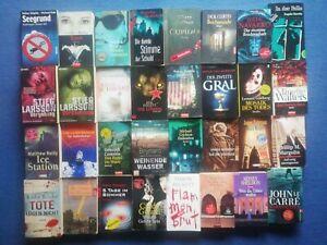 Top-Bücherpaket 32 Bücher Krimis/Thriller versch.Autoren