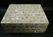 Vtg.Mother of Pearl Jewelry Trinket Box-rare