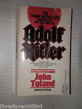 ADOLF HITLER John Toland Ballantine Books Abridged edition 1987 storia nazismo