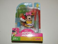 Fisher Price Disney Minnie Mouse plastic figure apple and book sealed on card