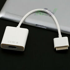Digital AV Adapter 30Pin Dock Connector To HDMI For iPad 2 3 iPhone 4s White
