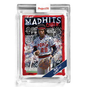 Topps Project70® Card 163 - 1988 Rod Carew by Gregory Siff Los Angeles Angels PR