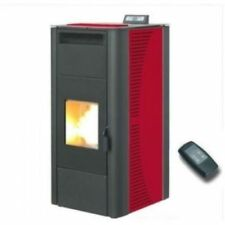 STUFA A PELLET  KING 20 BORDEAUX IDRO 20 KW 13374