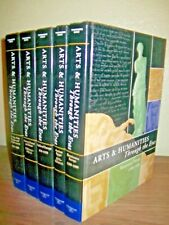 ARTS & HUMANITIES THROUGH THE ERAS rare COMPLETE 5 VOLUME SET H/C Thomson $825.