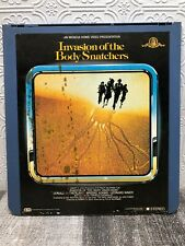 CED Videodisc Movie Invasion Of The Body Snatchers MGM