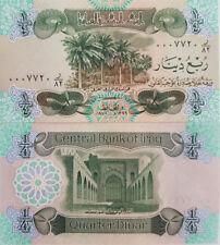 IRAK / IRAQ 1/4 Dinar 1979 UNC