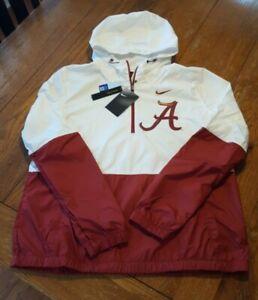 NWT New Women's Alabama Crimson Tide Medium Nike Anorak Jacket Retail $80