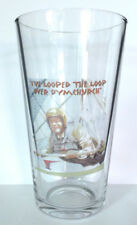 HANG GLIDER PINT SIZE BEER GLASS horses DEL BOY only DYMCHURCH fools and