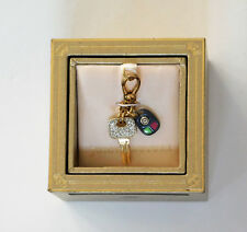 ~NWT~ 100% Authentic Juicy Couture 2011 Car Keys Charm In Gold Box YJRU5081