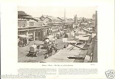 Pékin Beijing Street China Chine / Mechelen Malines Tableaux Rubens PHOTO 1910