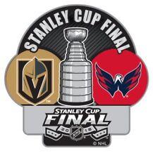 2018 Stanley Cup Final Finals Pin Washington Capitals Las Vegas Golden Knights