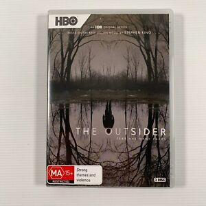 The Outsider HBO Series (DVD 2020) 3 discs- based on Stephen King novel Region 4